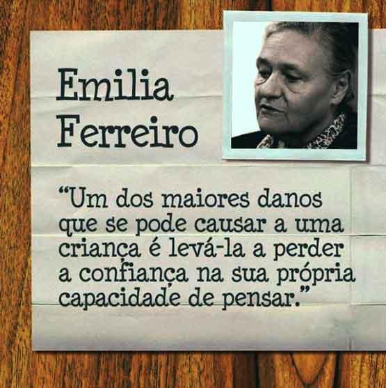 Emilia Ferreiro 2 - A Construção da Escrita na Criança por Emília Ferreiro