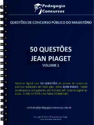 Capa JeanPiaget 300 300x400 - Apostilas em PDF