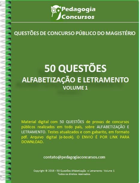 Capa Alfabetizacao - Apostilas em PDF