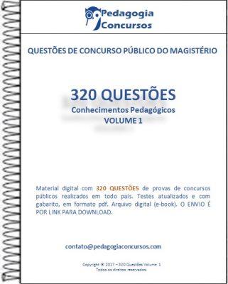 Capa Conhecimento Pedagogicos 321x400 - Apostilas em PDF
