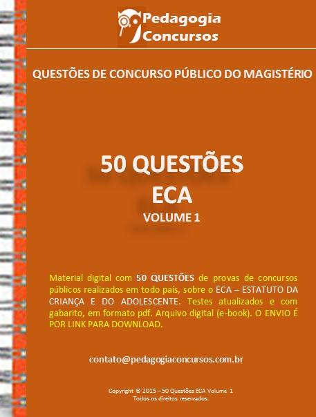 Capa ECA - Apostilas em PDF