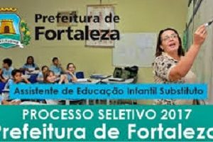 Prova de Assistente de Educação Infantil - Prefeitura de Fortaleza