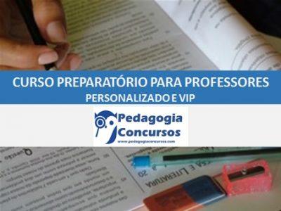 Nova Capa Curso Preparatorio 400x300 - Curso Preparatório para Professores Personalizado e VIP - On line