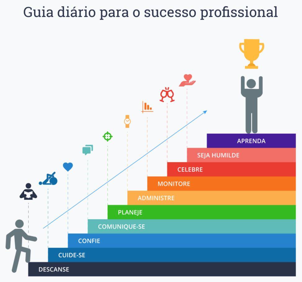 Guia diário para o sucesso - 10 passos para o sucesso na vida
